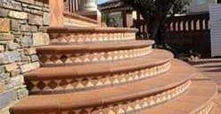 Керамические ступени и плитка