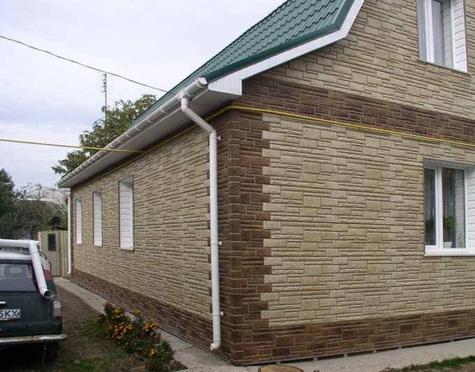 Фасадные панели (цокольный сайдинг) Nailite (Наилит)