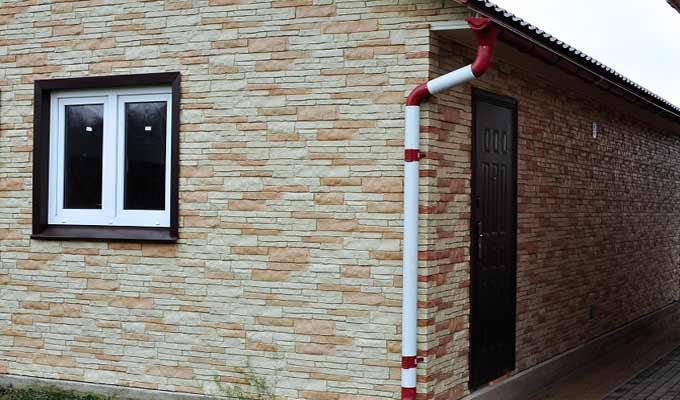 Фасадные панели цокольный сайдинг Nailite Наилит