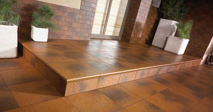 Фасадная клинкерная плитка Керамика Парадиз Ceramika Paradyz
